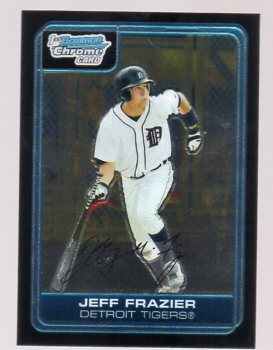2006 Bowman Chrome Prospects #BC58 Jeff Frazier