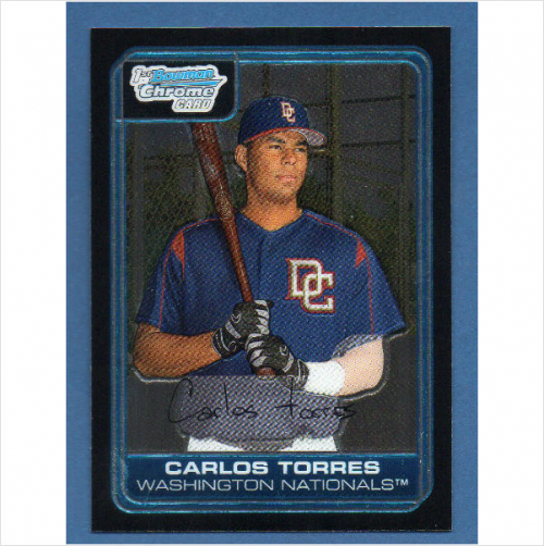 2006 Bowman Chrome Prospects #BC65 Carlos Torres