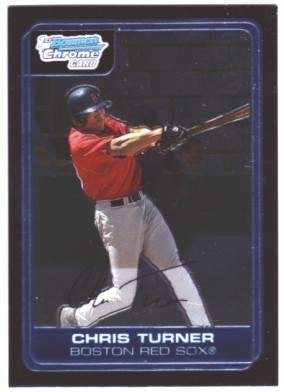 2006 Bowman Chrome Prospects #BC69 Chris Turner