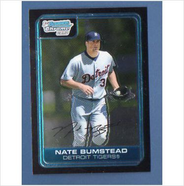 2006 Bowman Chrome Prospects #BC74 Nate Bumstead