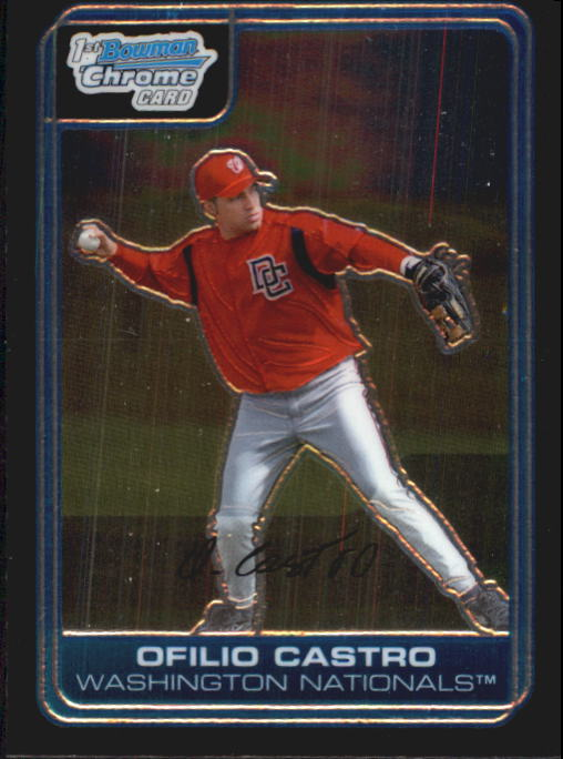 2006 Bowman Chrome Prospects #BC77 Ofilio Castro
