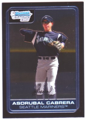 2006 Bowman Chrome Prospects #BC87 Asdrubal Cabrera