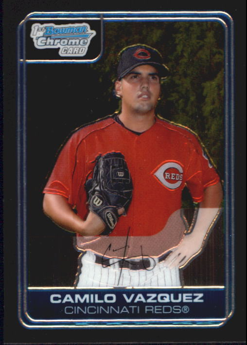 2006 Bowman Chrome Prospects #BC102 Camilo Vazquez