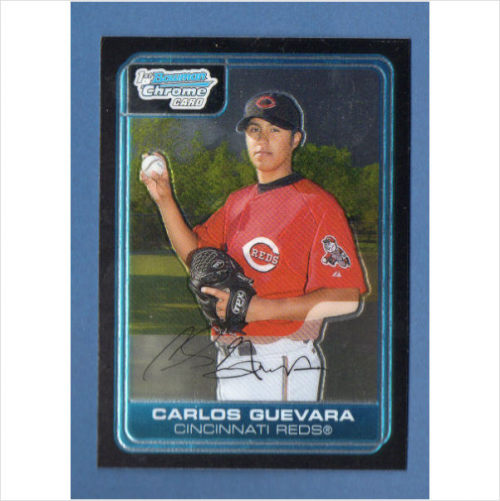 2006 Bowman Chrome Prospects #BC106 Carlos Guevara