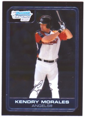 2006 Bowman Chrome Prospects #BC110 Kendry Morales