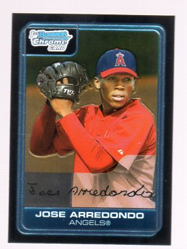 2006 Bowman Chrome Prospects #BC136 Jose Arredondo
