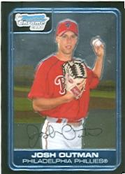 2006 Bowman Chrome Prospects #BC190 Josh Outman