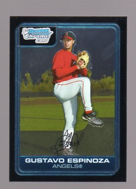 2006 Bowman Chrome Prospects #BC196 Gustavo Espinoza