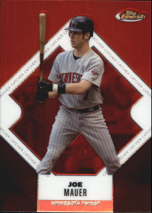 2006 Finest #48 Joe Mauer