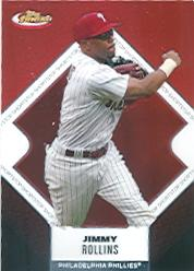 2006 Finest #80 Jimmy Rollins