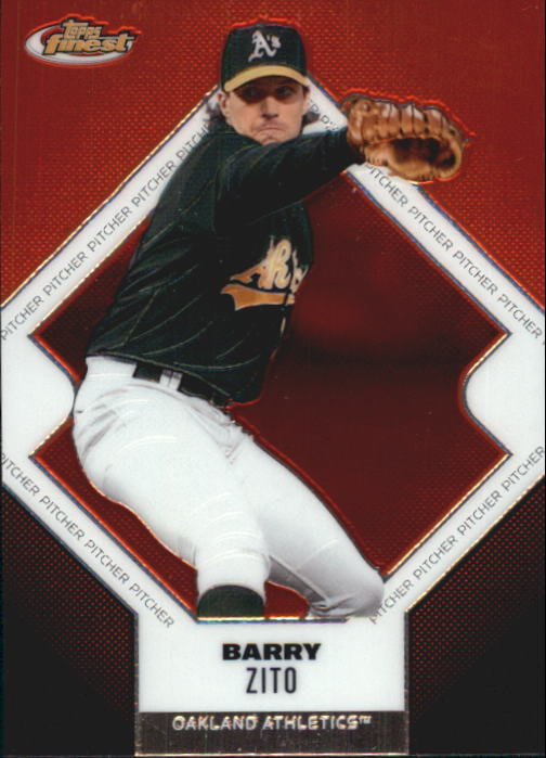 2006 Finest #122 Barry Zito
