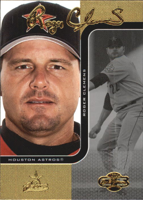 2006 Topps Co-Signers #2 Roger Clemens