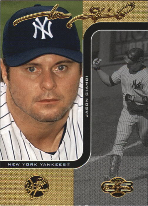 2006 Topps Co-Signers #25 Jason Giambi