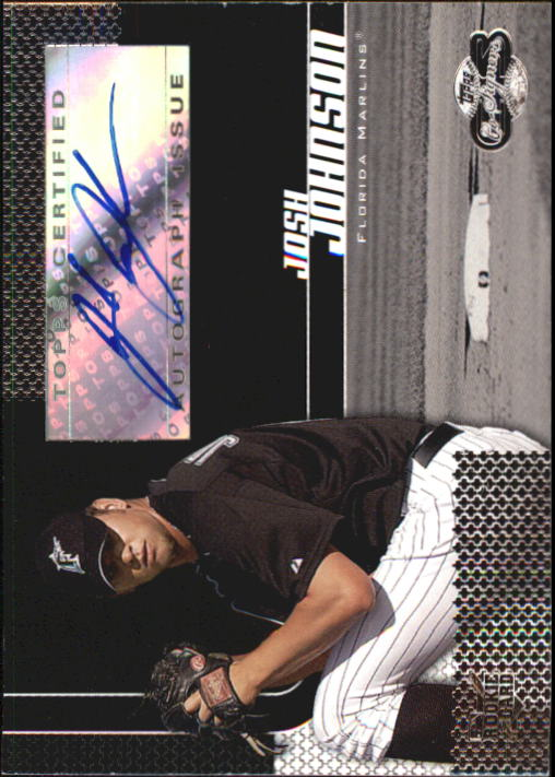 2006 Topps Co-Signers #106 Josh Johnson AU G (RC)