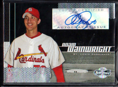 2006 Topps Co-Signers #108 A.Wainwright AU G (RC)