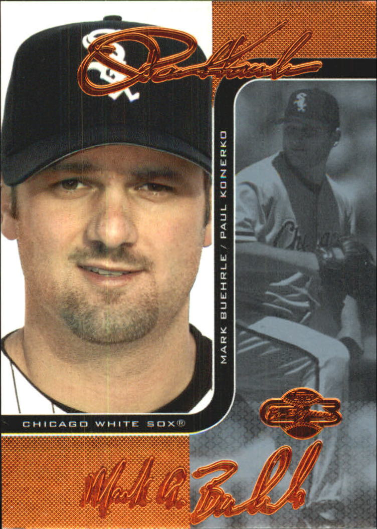 2006 Topps Co-Signers Changing Faces Blue #3A Paul Konerko/Scott Podsednik
