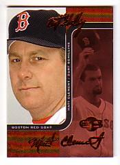 2006 Topps Co-Signers Changing Faces Red #6B Curt Schilling/Matt Clement