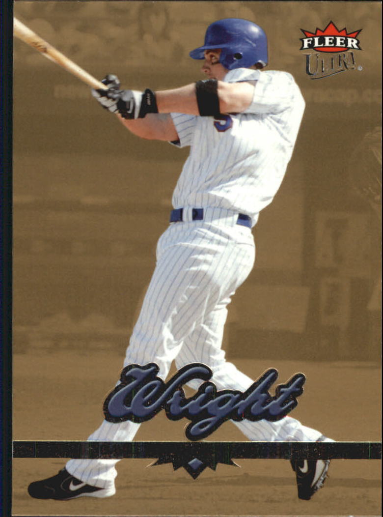2006 Ultra Gold Medallion #93 David Wright