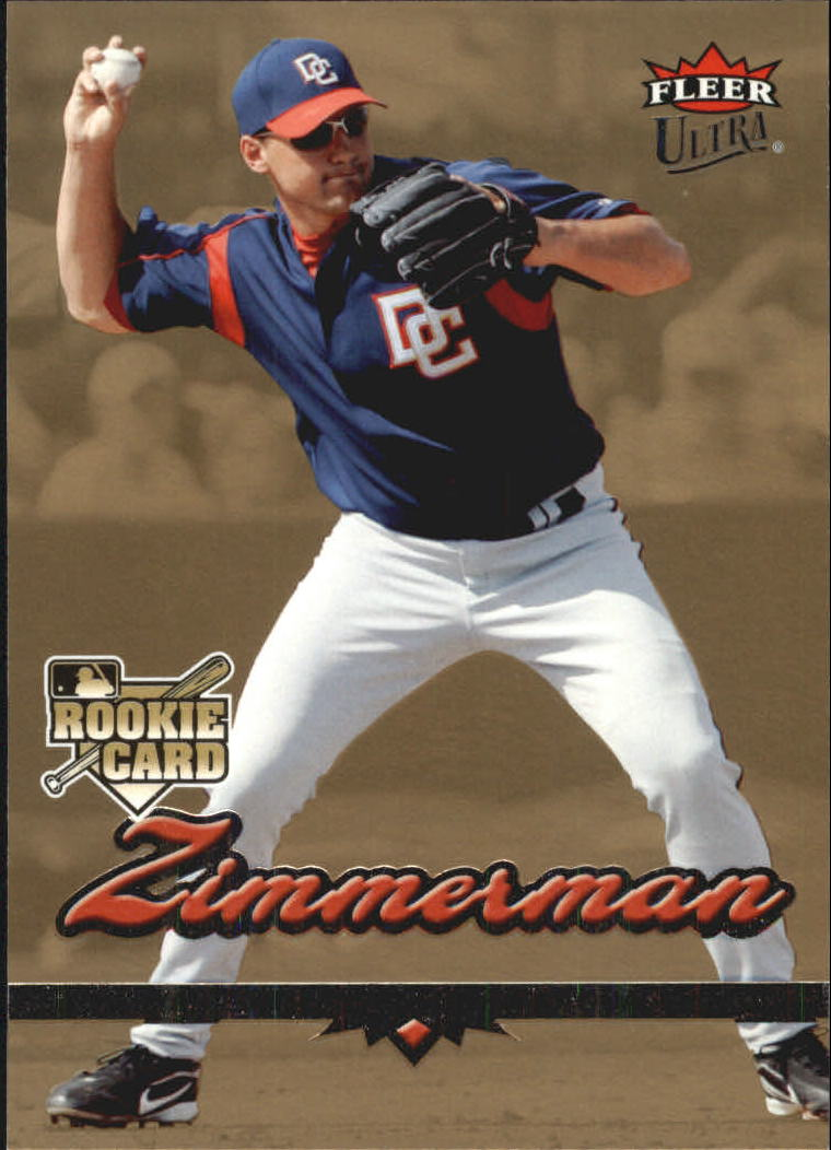 2006 Ultra Gold Medallion #97 Ryan Zimmerman
