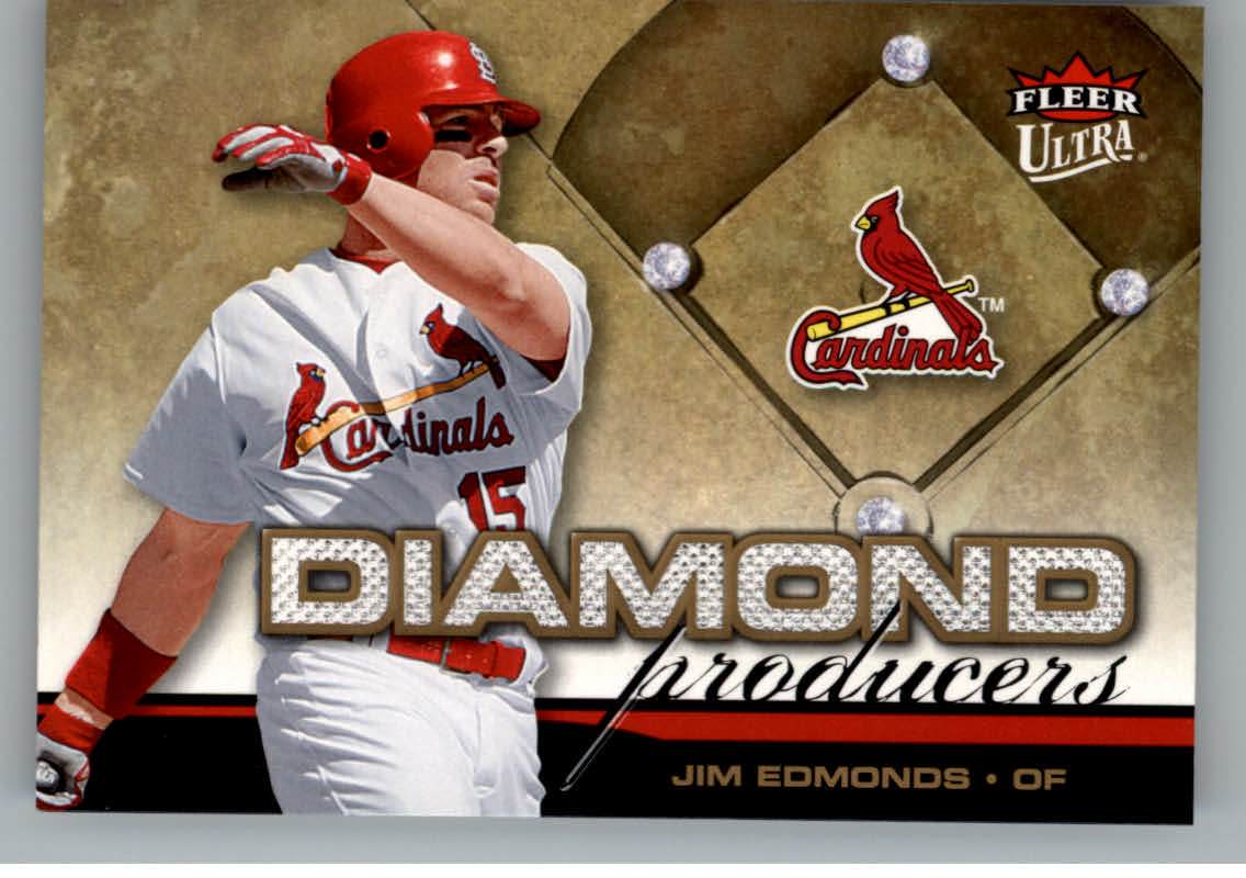 2006 Ultra Diamond Producers #DP3 Jim Edmonds
