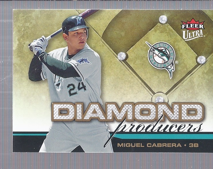 2006 Ultra Diamond Producers #DP12 Miguel Cabrera
