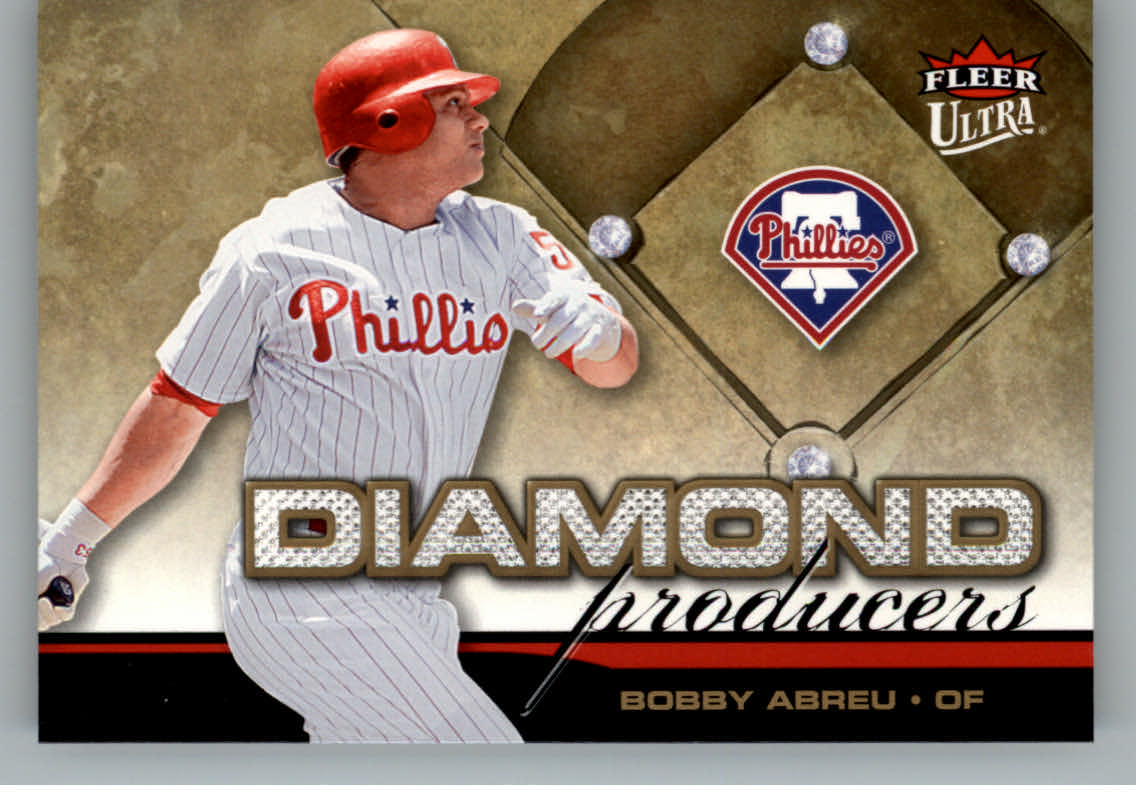 2006 Ultra Diamond Producers #DP20 Bobby Abreu