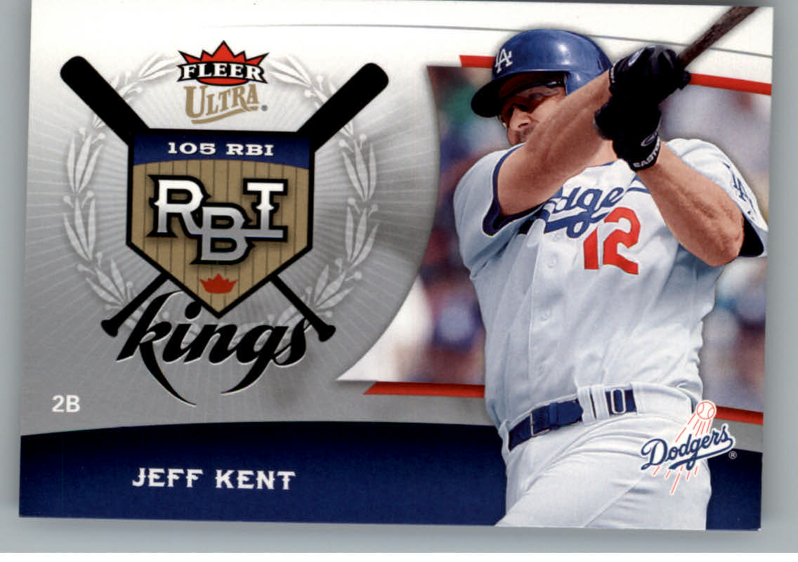 2006 Ultra RBI Kings #RBI10 Jeff Kent