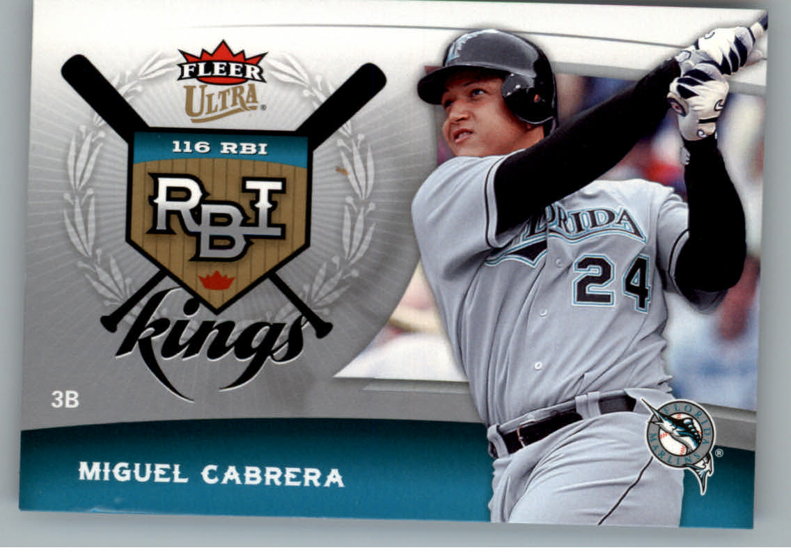 2006 Ultra RBI Kings #RBI13 Miguel Cabrera