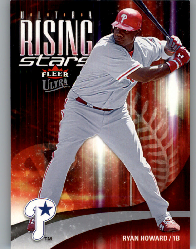 2006 Ultra Rising Stars #URS1 Ryan Howard