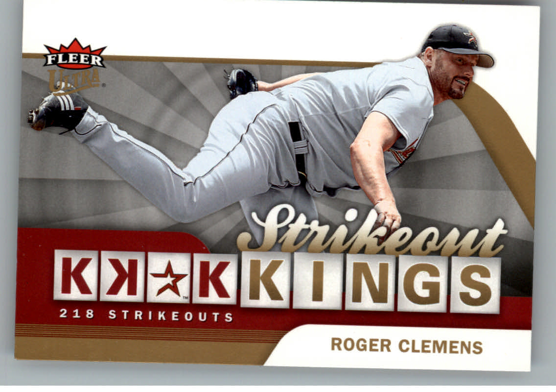 2006 Ultra Strikeout Kings #SOK1 Roger Clemens