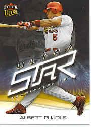 2006 Ultra Star #3 Albert Pujols