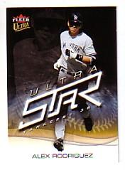 2006 Ultra Star #4 Alex Rodriguez