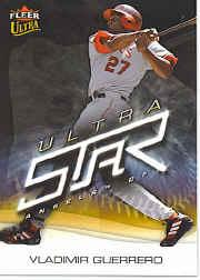 2006 Ultra Star #5 Vladimir Guerrero