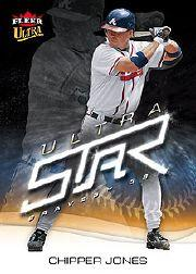 2006 Ultra Star #21 Chipper Jones