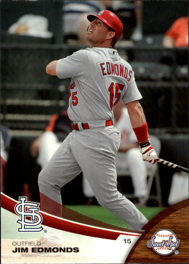 2006 Sweet Spot #21 Jim Edmonds