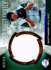 2006 Sweet Spot Super Sweet Swatch #SK Scott Kazmir Jsy/299
