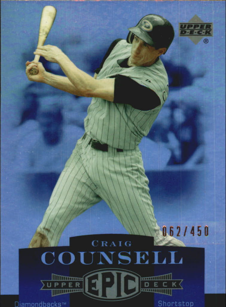 2006 Upper Deck Epic #3 Craig Counsell