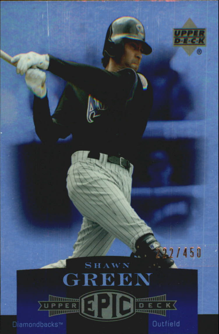 2006 Upper Deck Epic #8 Shawn Green