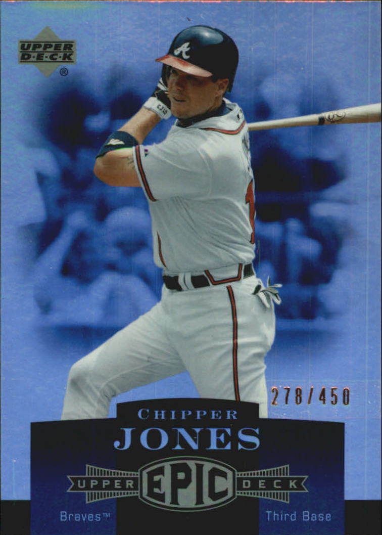 2006 Upper Deck Epic #10 Chipper Jones