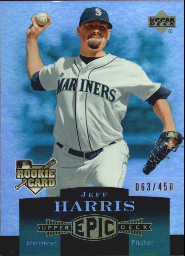 2006 Upper Deck Epic #297 Jeff Harris RC