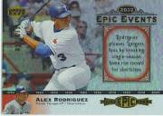 2006 Upper Deck Epic Events #EE54 Alex Rodriguez