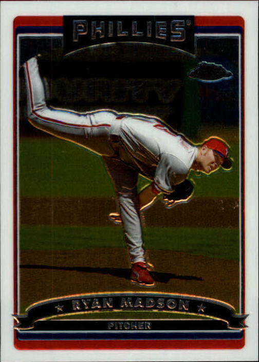 2006 Topps Chrome #176 Ryan Madson