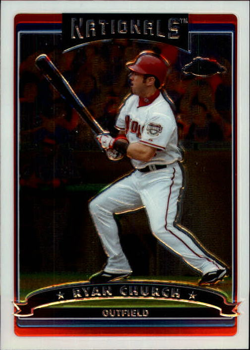 2006 Topps Chrome #210 Ryan Church