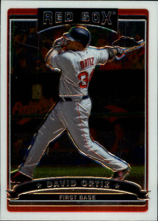 2006 Topps Chrome #227 David Ortiz