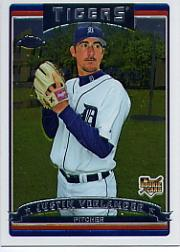 2006 Topps Chrome #309 Justin Verlander (RC)