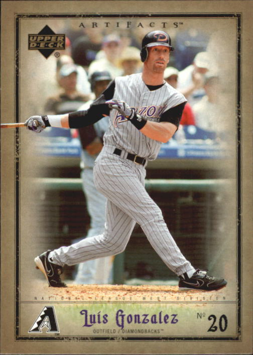 2006 Artifacts #1 Luis Gonzalez