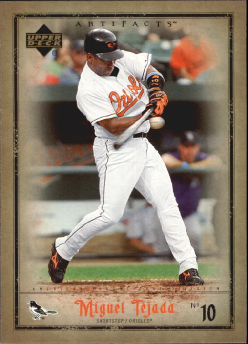 2006 Artifacts #9 Miguel Tejada