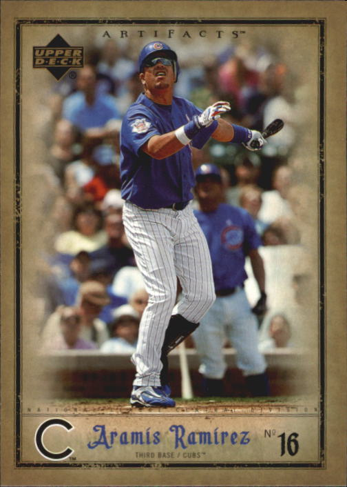2006 Artifacts #16 Aramis Ramirez