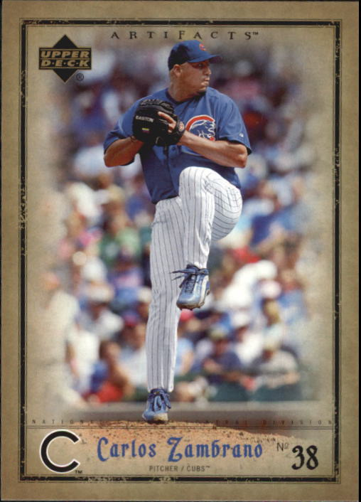 2006 Artifacts #17 Carlos Zambrano