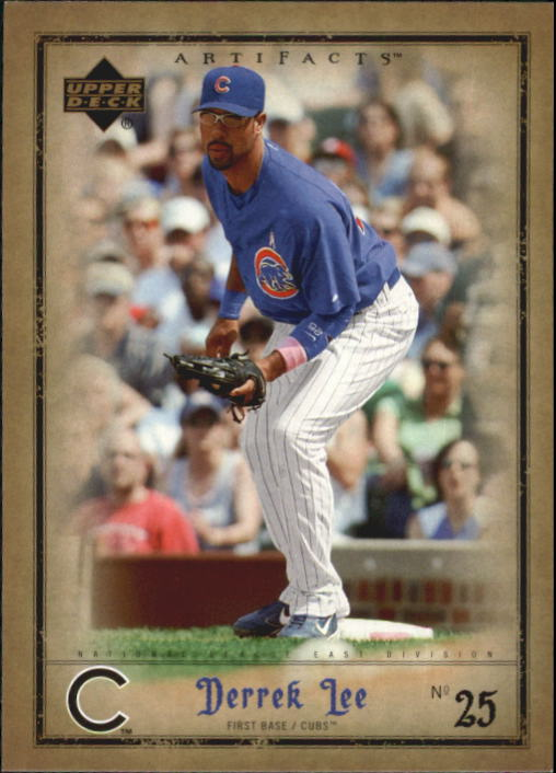 2006 Artifacts #18 Derrek Lee